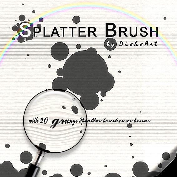 Grunge_Splatter_Brushes_by_DieheArt