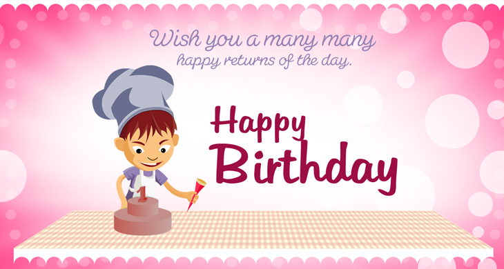10 Free Vector PSD Birthday Celebration Greeting Cards for – Free Birthday Cards Download