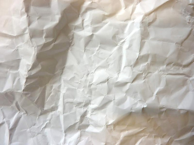 High Res Crumpled Paper Textures