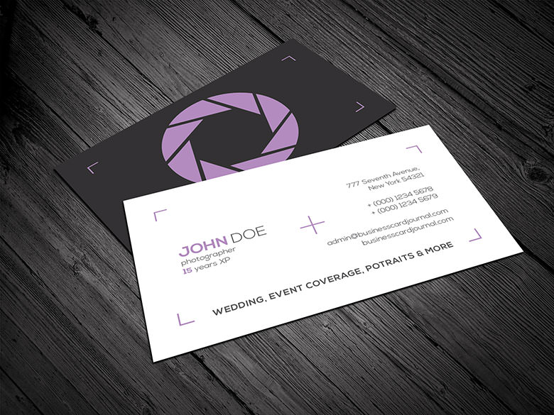 Minimalist-Style-Photographer-Business-Card-Template