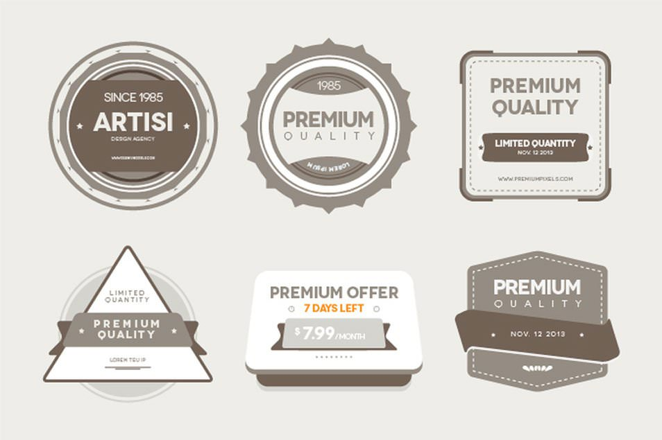 Premium-Quality-Badges
