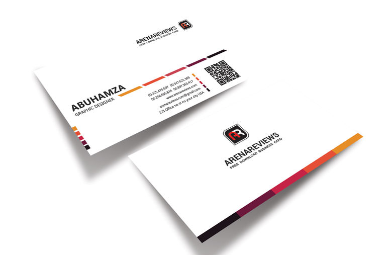 40 unique stylish psd corporate business card designs for free professional business card template for free download preview 1 download fbccfo Gallery