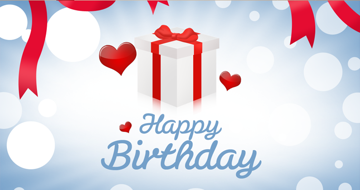 10 Free Vector PSD Birthday Celebration Greeting Cards for – Simple Printable Birthday Cards