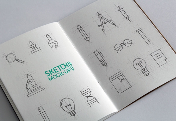 Sketchbook-MockUp-PSD