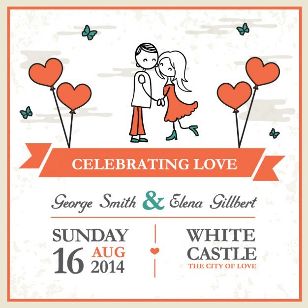 cartoon-couple-wedding-card-template_