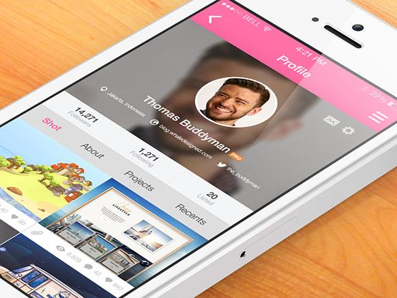 dribbble-app