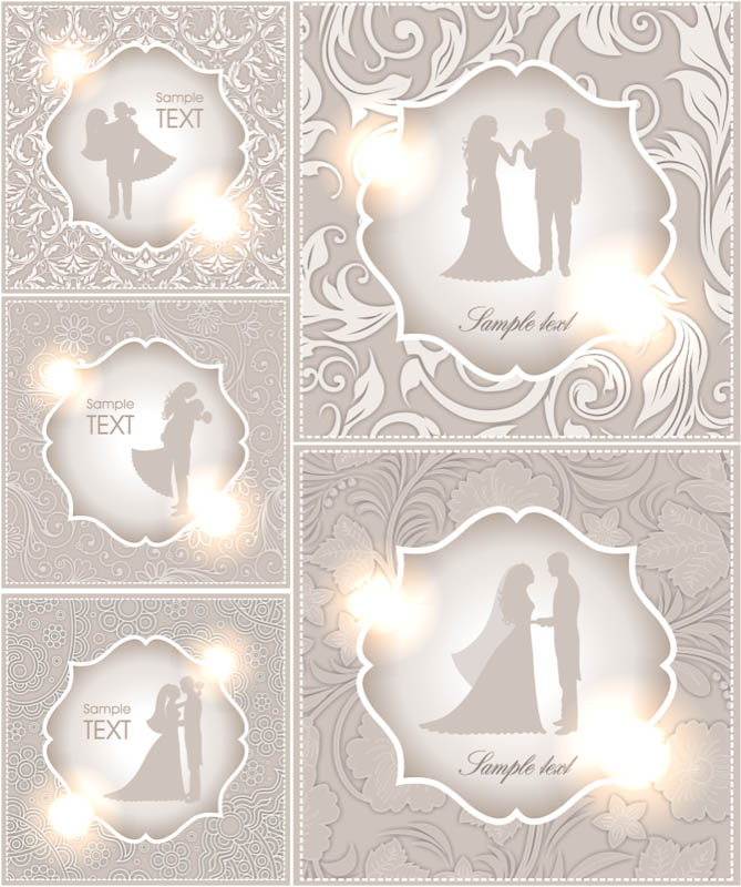 18 free wedding vectors jpg vector eps ai illustrator download embellished vector wedding invitation card stopboris Images