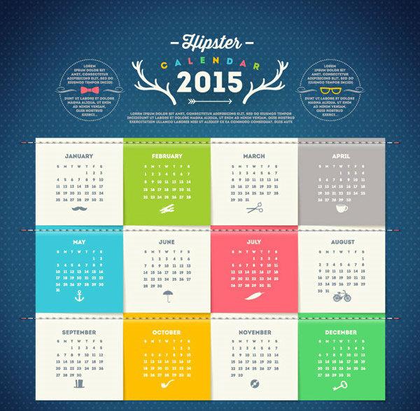 facegfx-vector-fresh-2015-calendar-vector