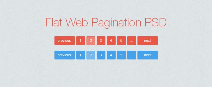 flat-web-pagination