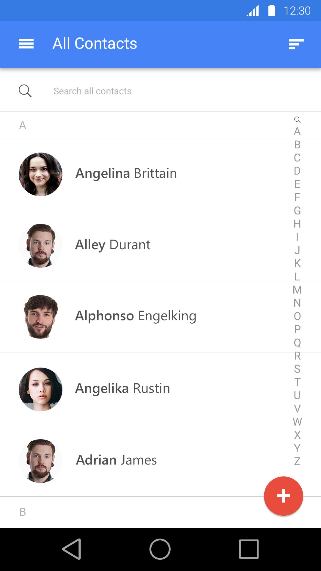 free-MaterialDesign-app
