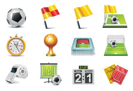 free-best-football-vetor-icons