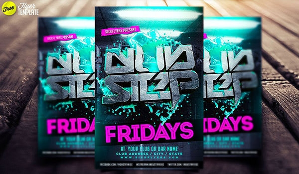 free-dubstep-flyer-template