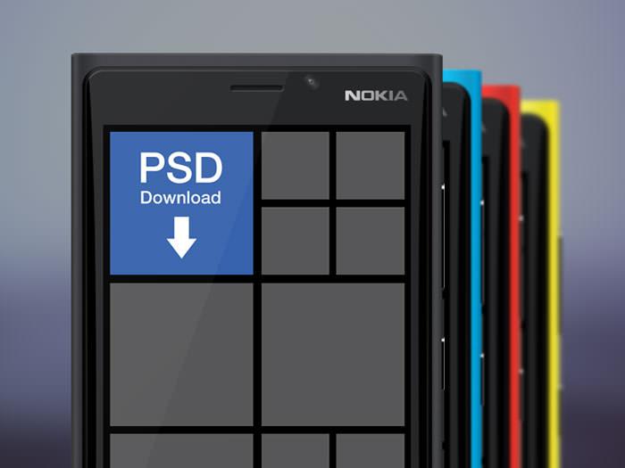 free-psd-Nokia-Lumia-920-mockup