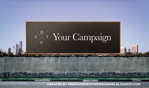 free psd outdoor mockup