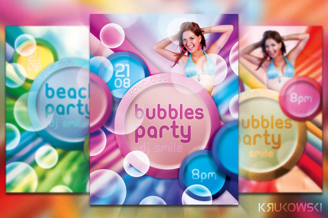 freebie_bubbles_party_flyer_template_by_mkrukowski-d74s4p4
