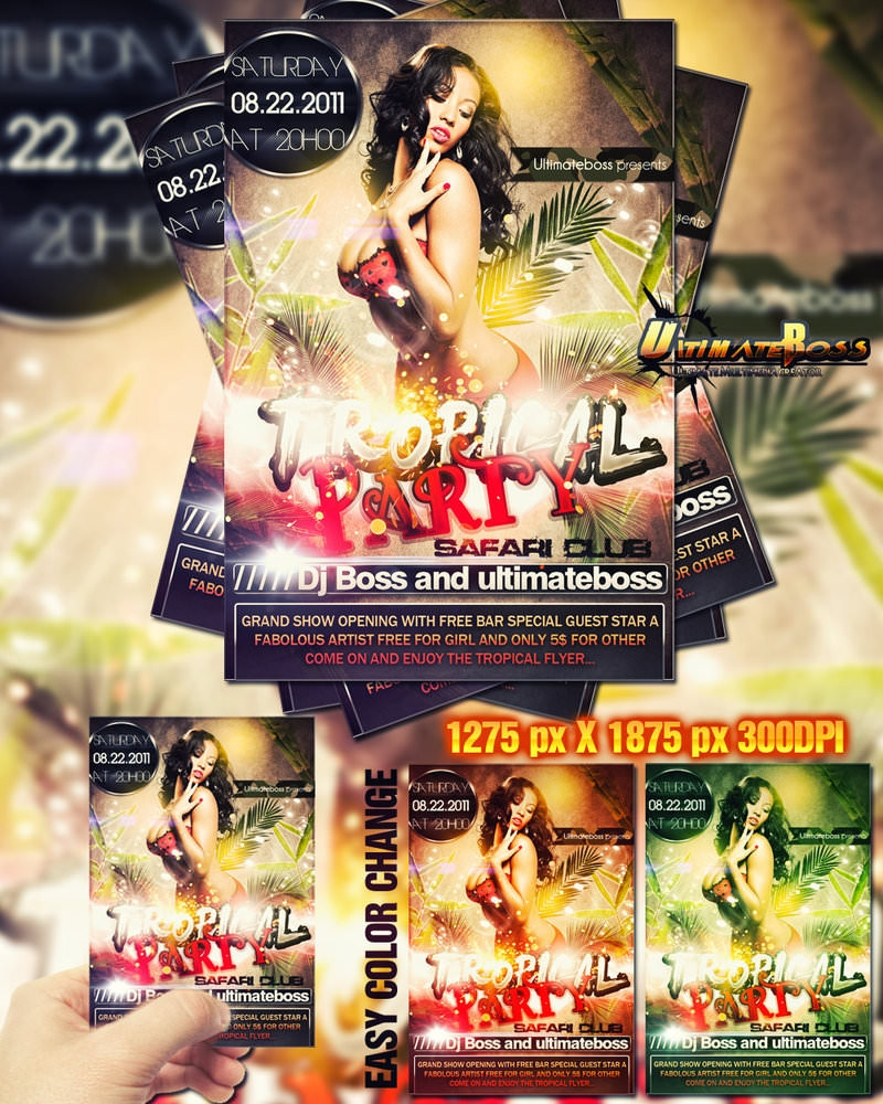 freemium_tropical_party_flyer_by_ultimateboss-d4dswxb
