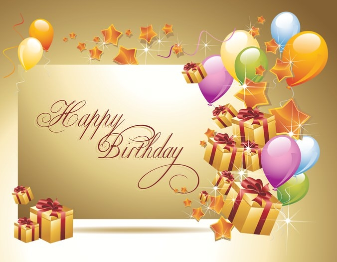 10 Free Vector PSD Birthday Celebration Greeting Cards for – Happy Birthday Card Psd