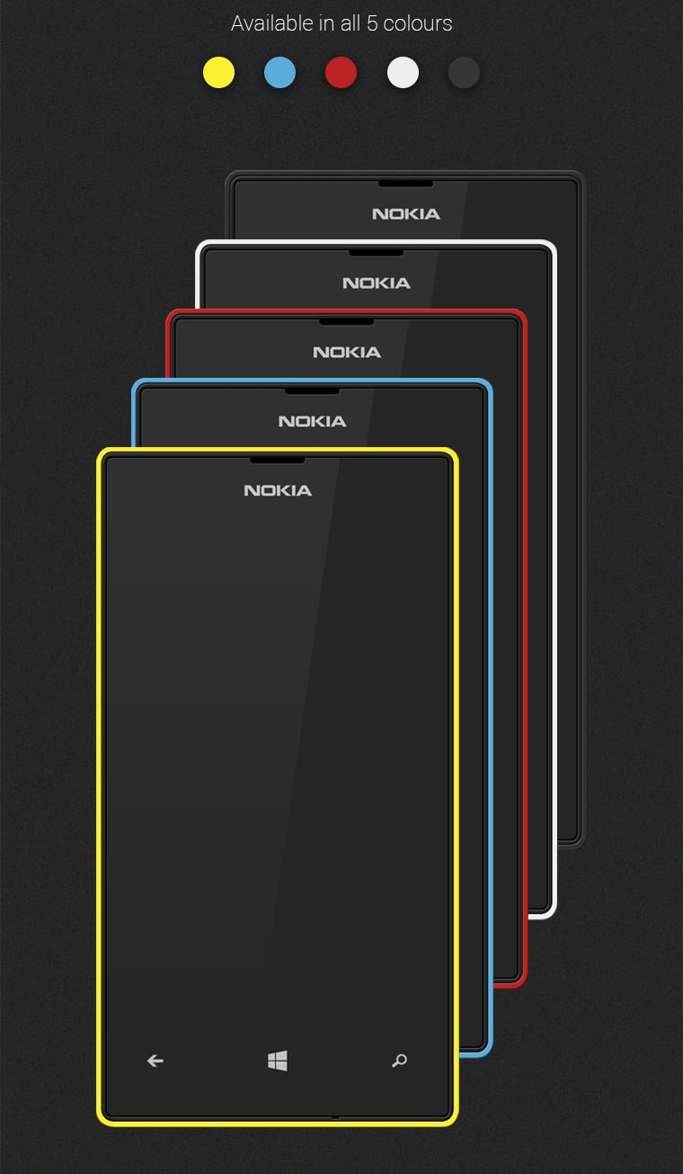 15 Free Nokia Lumia Mobile Mockups