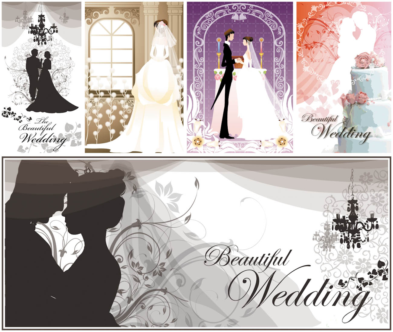 Wedding Graphics: JPG, Vector EPS, AI Illustrator