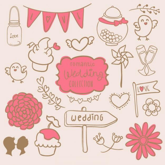 romantic-wedding-graphics-set_23-2147493455