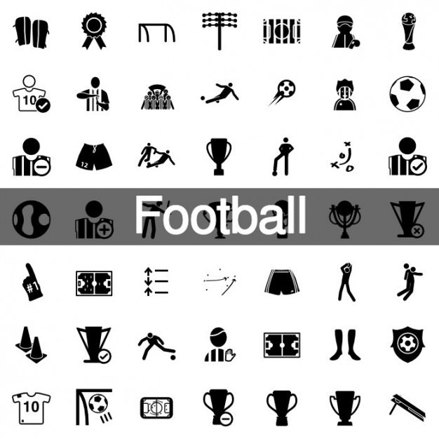 vector-football-icons-pack