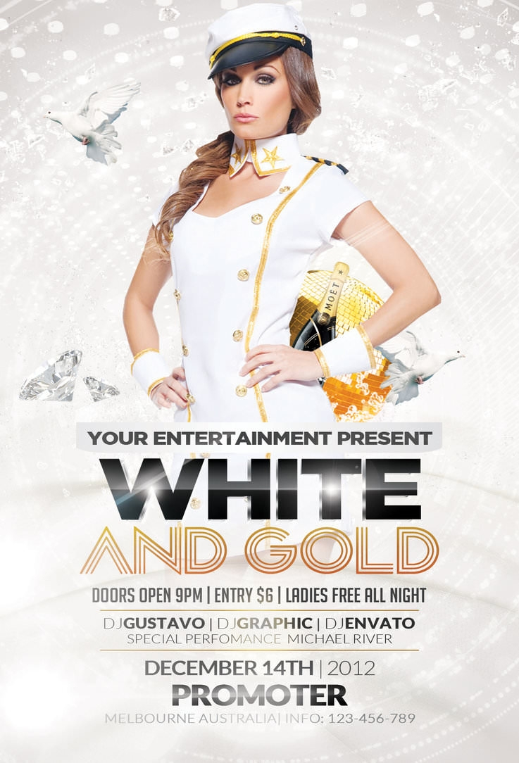 white_and_gold_party_ flyer