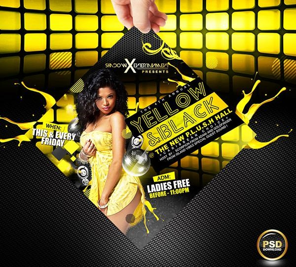 yellow_and_black_party_flyer_psd_