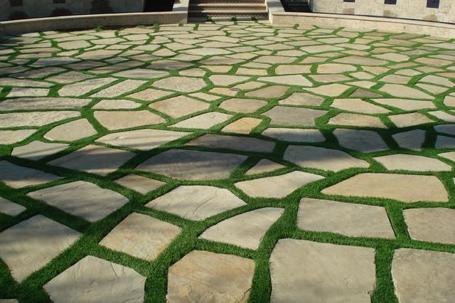 15 Free Grass Pavement Textures