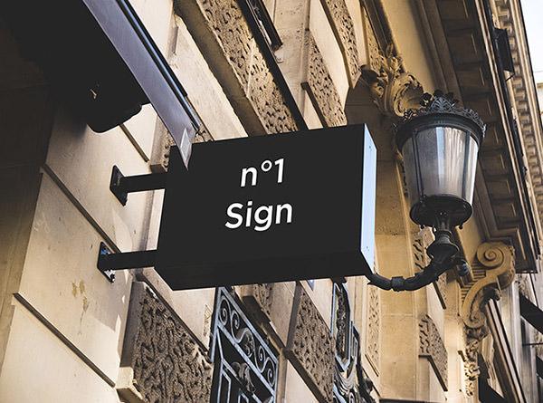 2 hip signs mockups