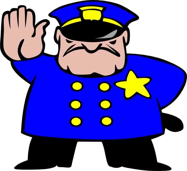 15+ Free Vector Police Cartoon Clipart