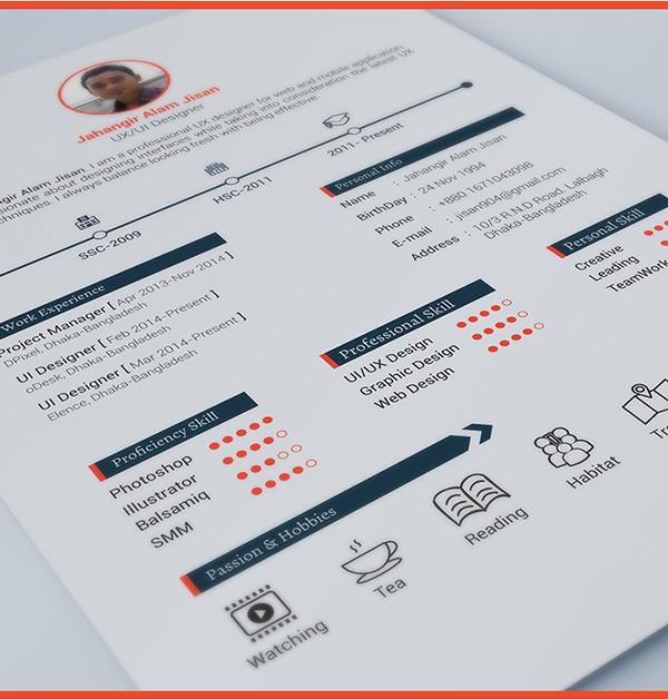 40  resume template designs