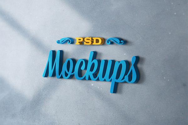 3D-Logo-Mockups