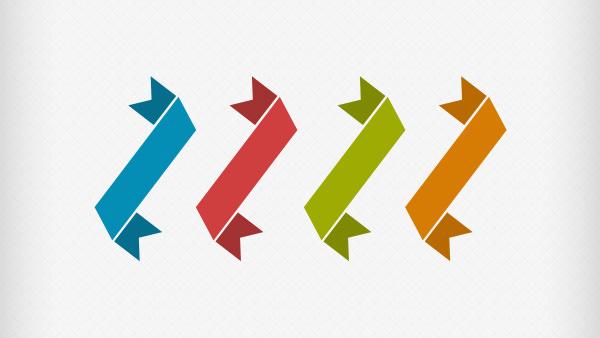 4-Flat-Colorful-Angle-Ribbons-Set-PSD-Freebie