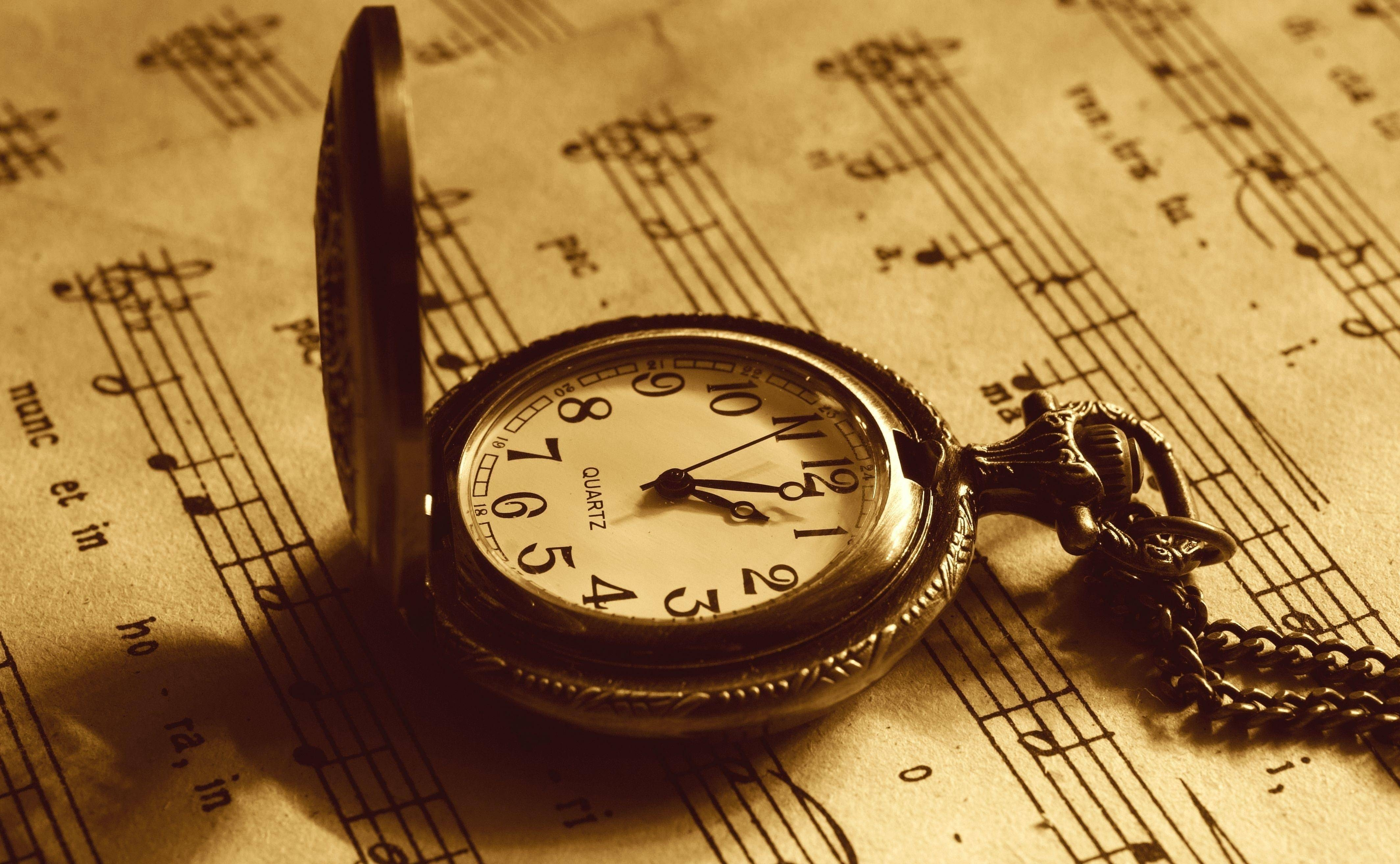 download vintage music pocket watch wallpaper