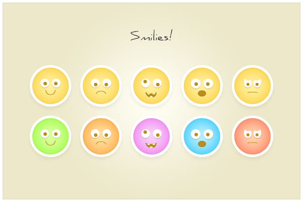 51 Smilies (freebie by pixelcave)