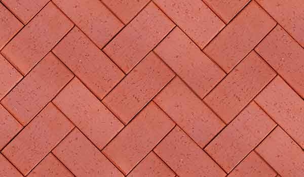 Hi Res Seamless Red Brick Paving Sidewalk Texture