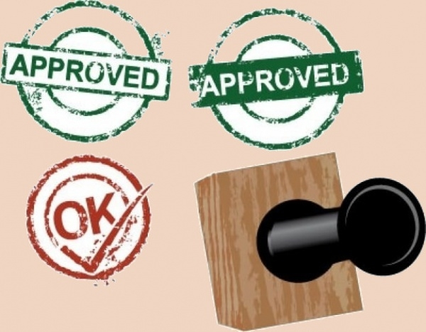 Approved Rubber Stamp Designs