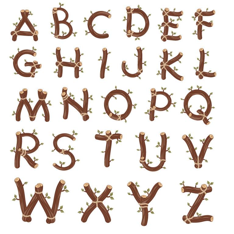 Branches-Alphabet