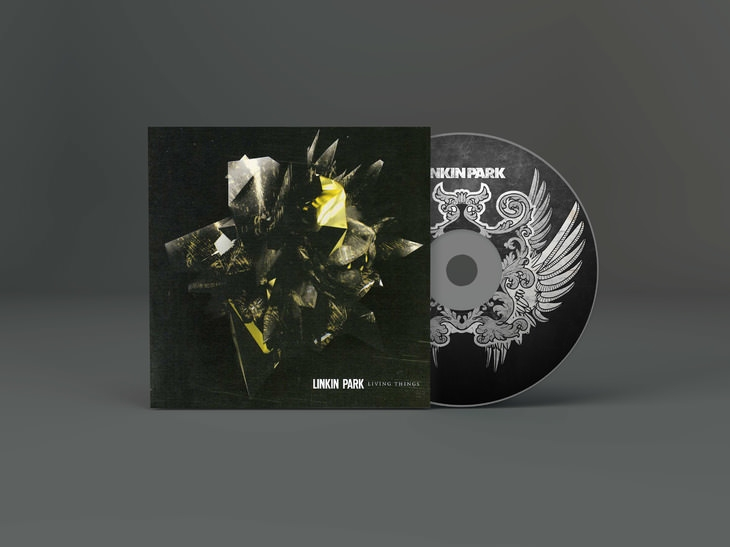 CD Art work mockup