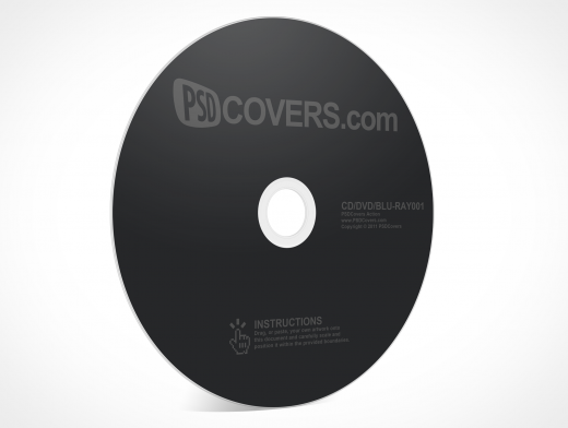CD, DVD Disc Mockup PSD Download