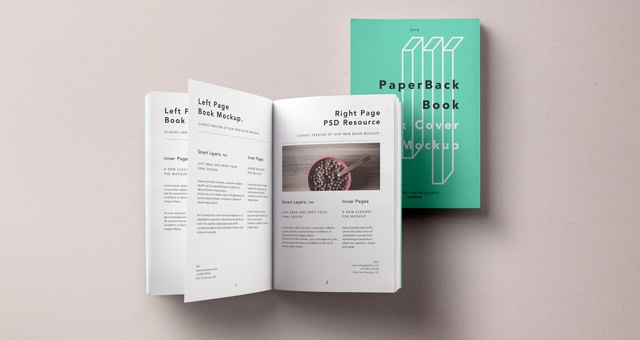 Old Book Cover Psd : Book cover mockup freecreatives