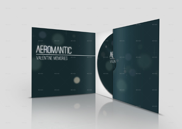 DVD CD Cover Mockup