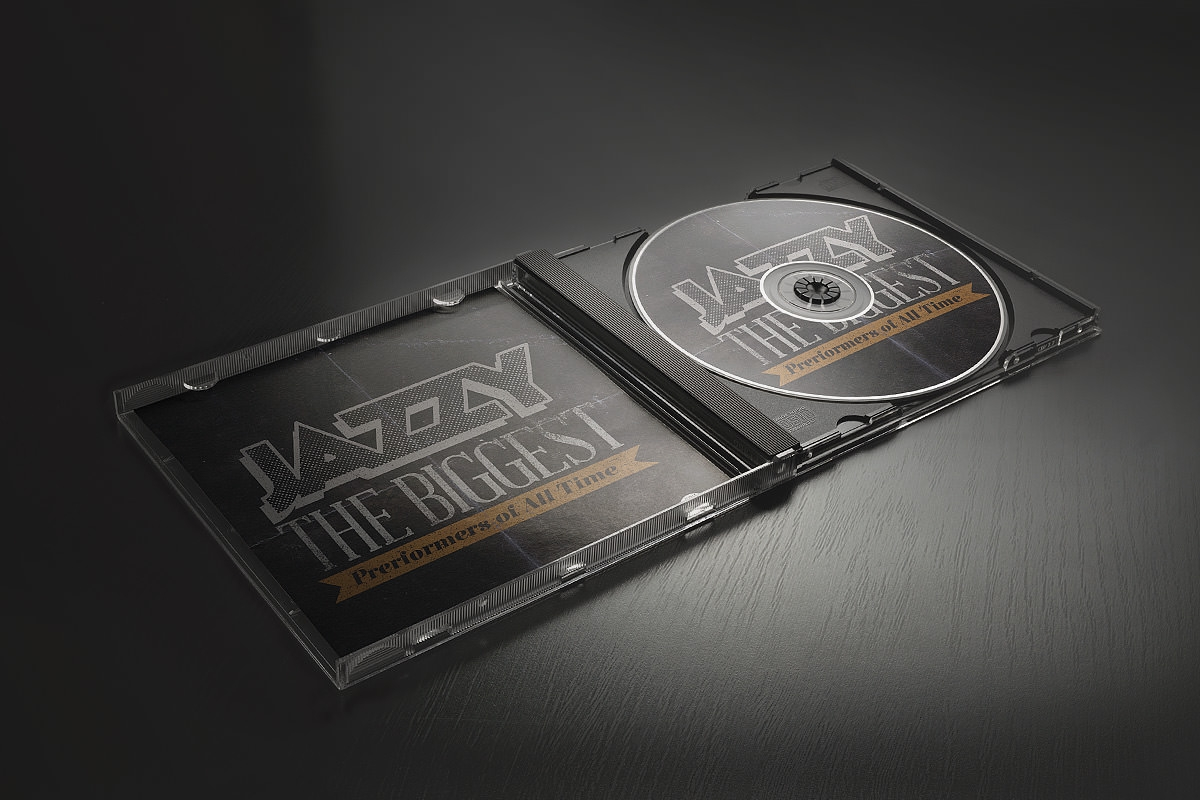 Free CD Cover MOCK-UP PSD