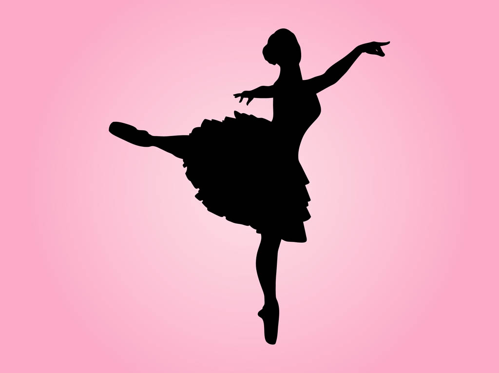 dancing girl silhouette - photo #10
