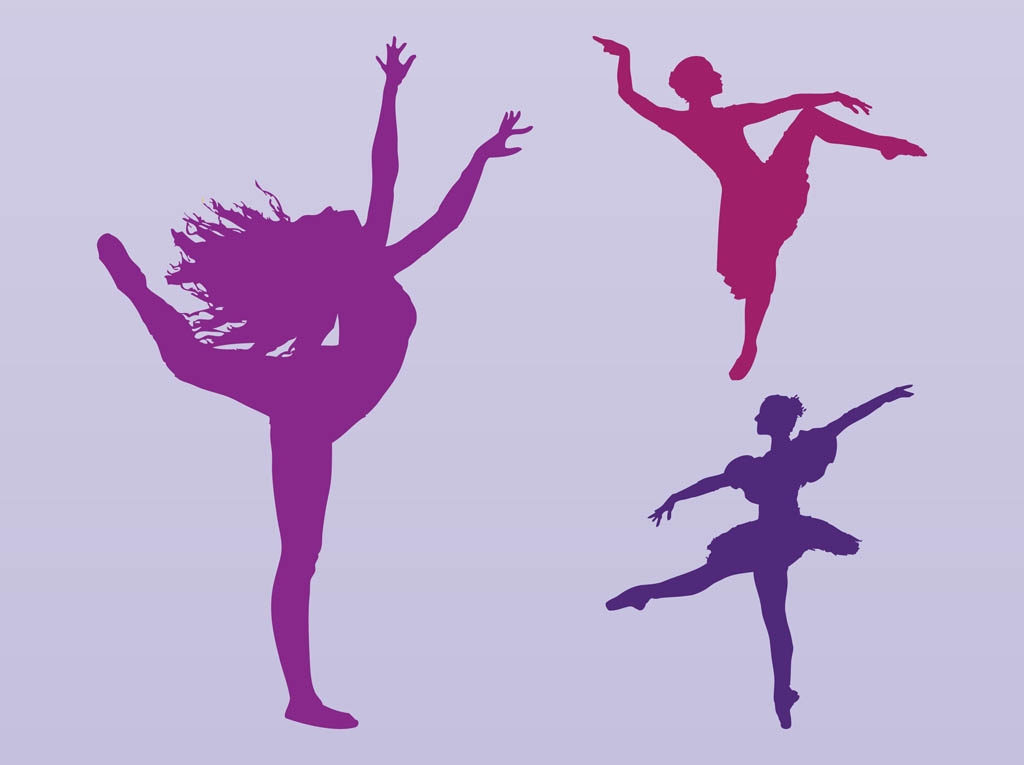 Dancing-Girls-Silhouettes