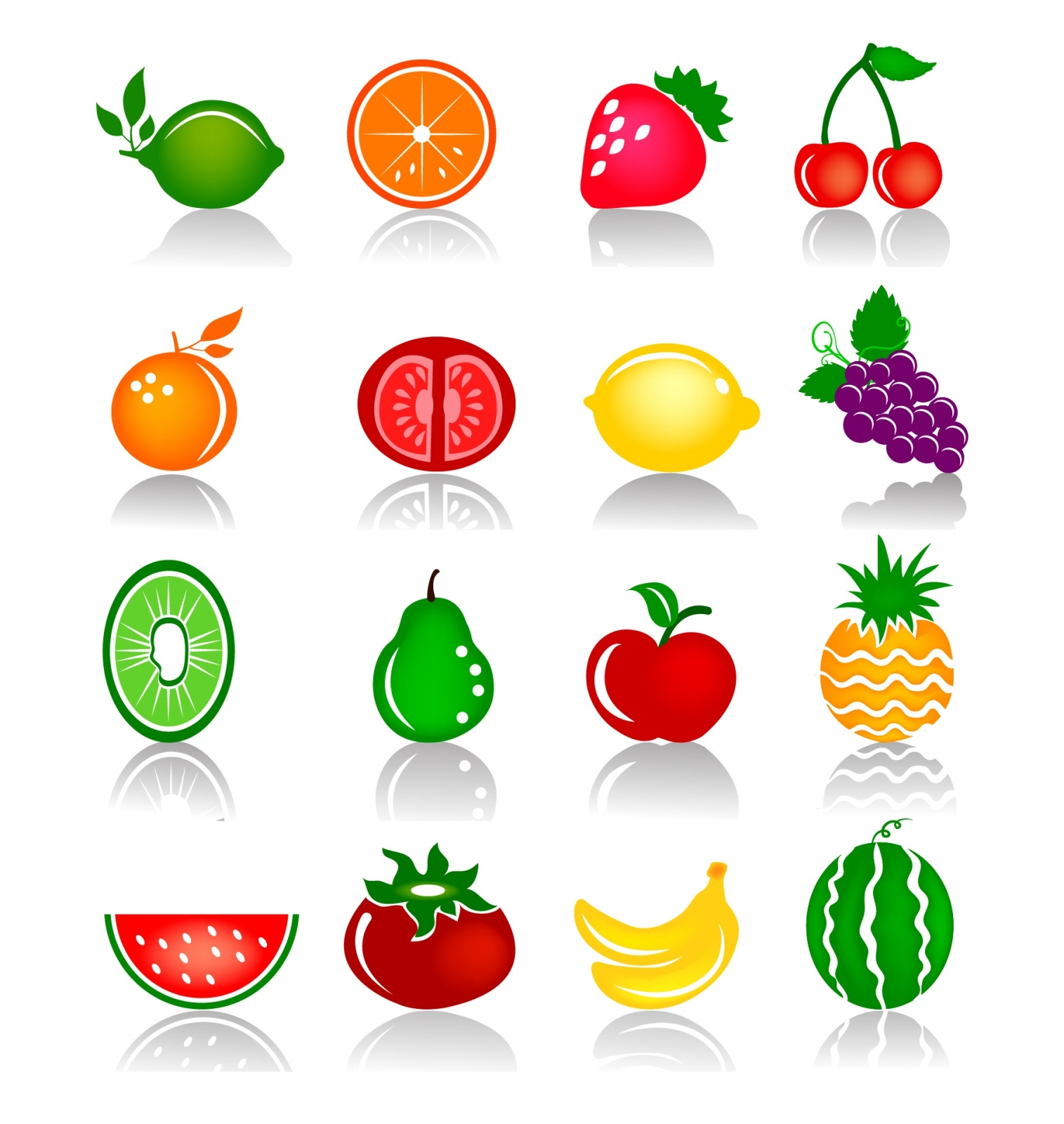 Fruits_Colorful_Icons
