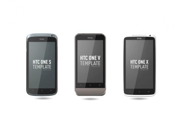 20+ Free Psd HTC Mobile Mockups