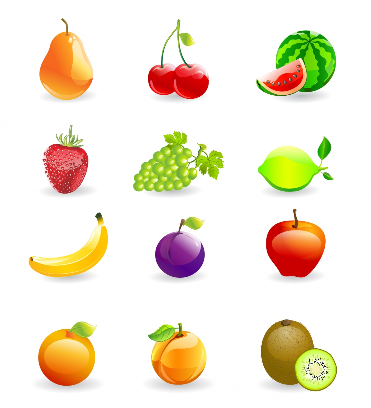 Icon_Set_Fruits