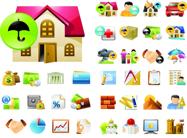 Real Estate Icon Set1