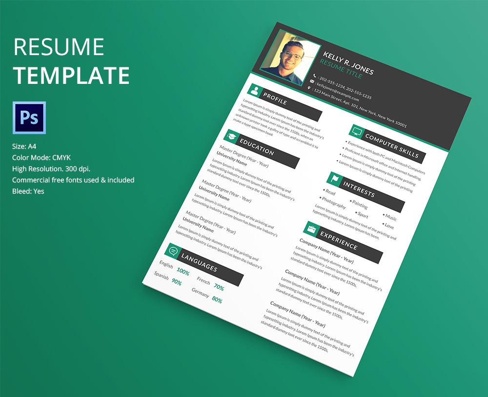 40+ Free PSD Creative Resume Template Designs Every Job Hunter Needs